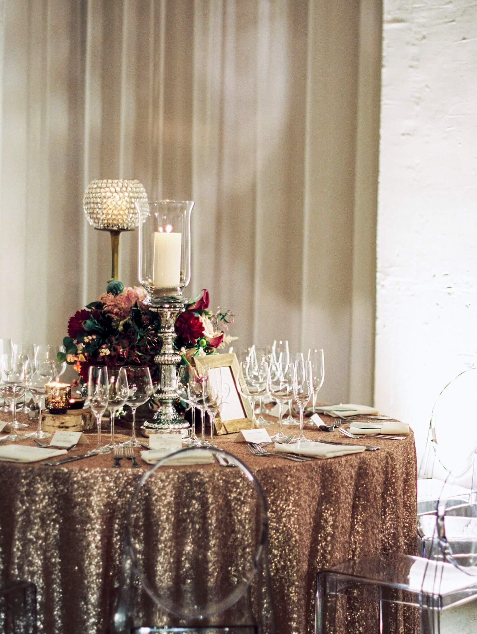 Rose Gold Wedding Ideas | Chez Wedding Venue