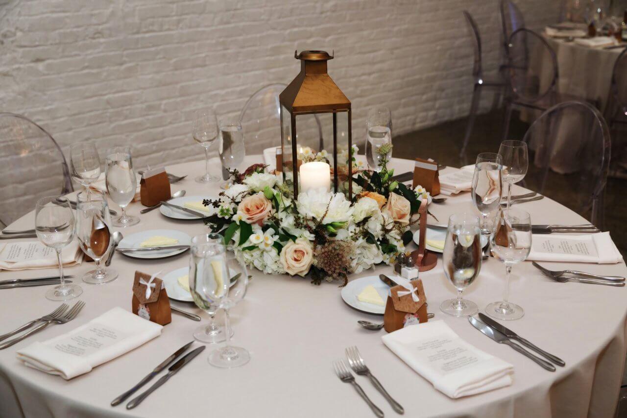 Rustic Wedding Centerpieces.Candle Centerpiece At Rustic Wedding Chez Wedding Venue