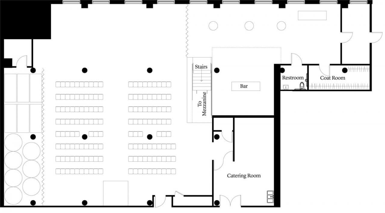 Floorplans Chez Chicago Wedding Venue