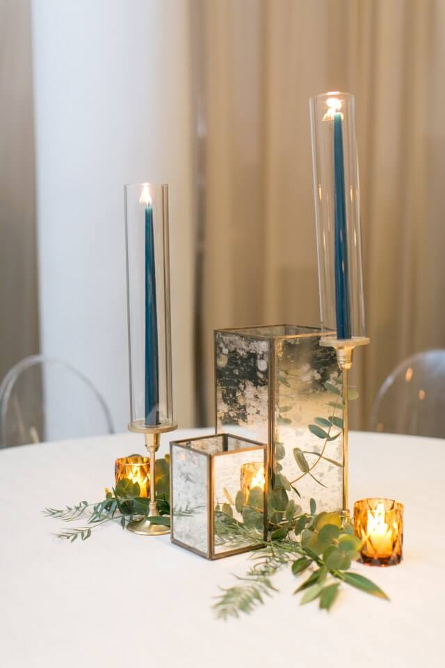 Golden Wedding Centerpieces.Golden Wedding Centerpiece Ideas Chez Wedding Venue